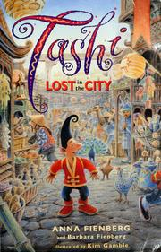 Cover of: Tashi lost in the city