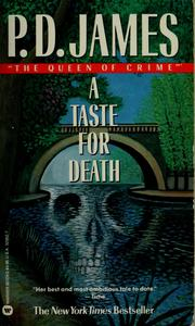 Cover of: A Taste for Death