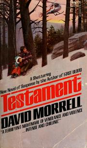 Cover of: Testament by David Morrell