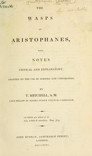 Cover of: Wasps by Aristophanes