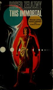 Cover of: This immortal | Roger Zelazny