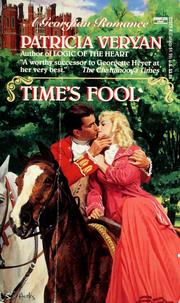 Cover of: Time's Fool | Patricia Veryan