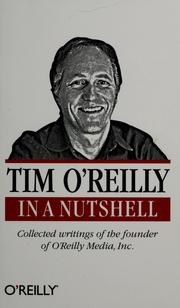 Cover of: Tim O'Reilly in a nutshell by Tim O'Reilly