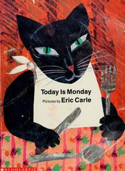 Cover of: Today is Monday | Eric Carle