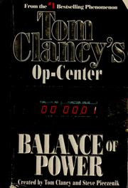 Cover of: Balance of power | Tom Clancy