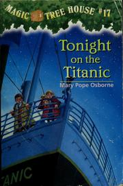 Cover of: Tonight on the Titanic | Mary Pope Osborne