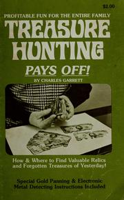 Cover of: Treasure hunting pays off! | Charles L. Garrett