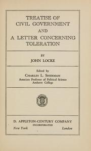 an essay on toleration john locke An essay concerning human understanding in a letter concerning toleration in these two treatises the political philosopher john locke espouses radical theories which influenced the ideologies of the american and french revolutions.