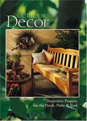 Cover of: Outdoor decor | the Home Decorating Institute.