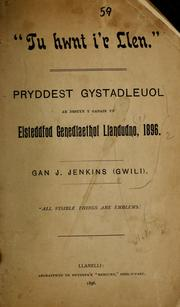 Cover of: Tu hwnt i'r Llen by Gwili