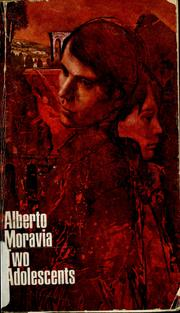 Cover of: Two adolescents by Alberto Moravia