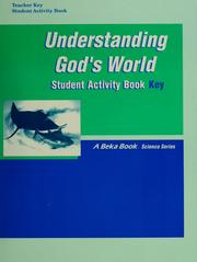 Cover of: Understanding God's world |