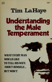 Cover of: Understanding the Male Temperament | Tim F. LaHaye