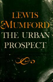 Cover of: The urban prospect