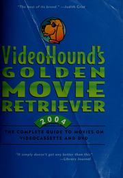 Cover of: VideoHound's golden movie retriever by Jim Craddock, editor.