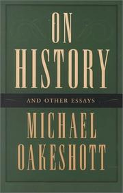 Cover of: On history and other essays