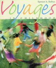 Cover of: Voyages in childhood | Spencer A. Rathus