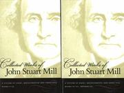 Cover of: Collected Works of John Stuart Mill