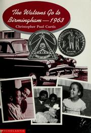 The Watsons go to Birmingham--1963 (1995 edition) | Open Library