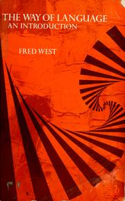 Cover of: The way of language | Fred West