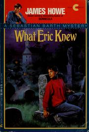 Cover of: What Eric knew | Jean Little