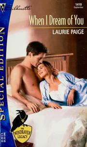 Cover of: When I dream of you | Laurie Paige