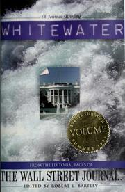 Cover of: Whitewater, volume II by