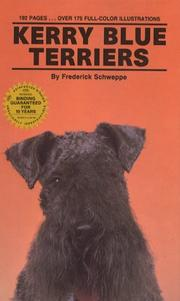 Cover of: Kerry blue terriers