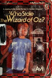 Who stole the wizard of oz open library cover of who stole the wizard of oz avi fandeluxe Choice Image