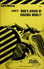 Who's afraid of Virginia Woolf? by James Lamar Roberts