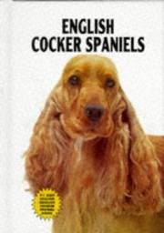Cover of: English cocker spaniels