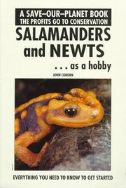 Cover of: Salamanders & Newts As a Hobby (Save Our Planet) | John Coborn