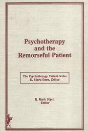 Psychotherapy and the remorseful patient by