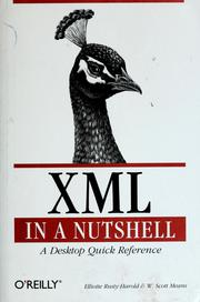 Cover of: XML in a nutshell | Elliotte Rusty Harold