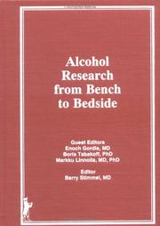 Cover of: Alcohol Research from Bench to Bedside (Irwin Series in Management and the Behavioral Sciences) (Irwin Series in Management and the Behavioral Sciences)