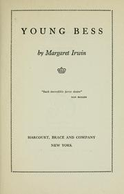 Cover of: Young Bess