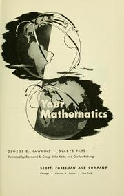 Cover of: Your mathematics | George Edmon Hawkins