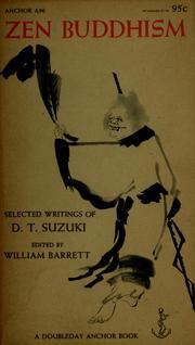 Zen Buddhism, selected writings.