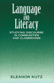 Language and literacy by Eleanor Kutz