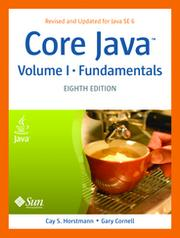 Cover of: Core Java by Cay S. Horstmann