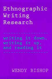 Ethnographic Writing Research