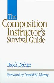 Cover of: The composition instructor's survival guide