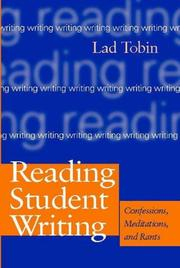 Cover of: Reading student writing | Lad Tobin