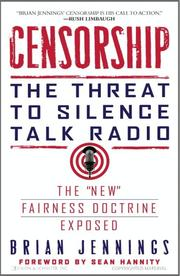 Cover of: Censorship | Brian Jennings