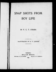Snap shots from boy life by F. C. T. O'Hara