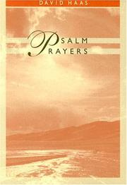 Cover of: Psalm prayers
