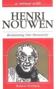 Cover of: A Retreat With Henri Nouwen