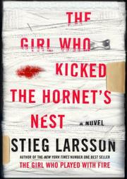 Cover of: The Girl Who Kicked the Hornet's Nest