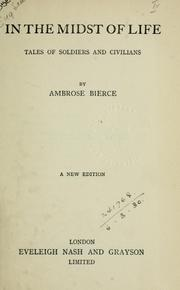 Cover of: In the Midst of Life by Ambrose Bierce