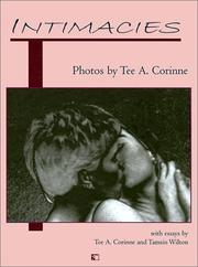 Cover of: Intimacies |